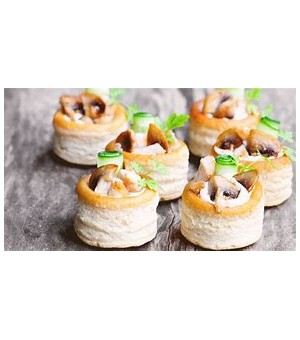 VOL AU VENT 38mm - 12 pieces