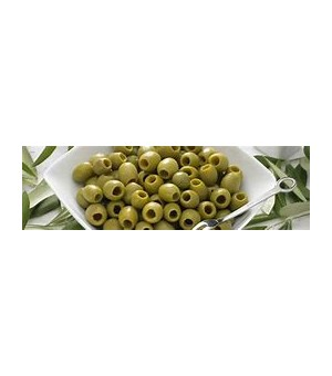 PITTED GRREN OLIVES - Masiello