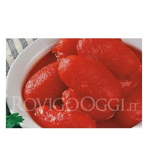 WHOLE PEELED TOMATOES - Vege'