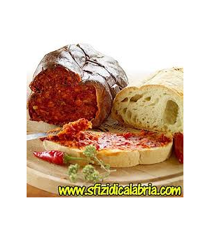 """NDUJA"" HOT SALAME PASTE FROM CALABRIA"