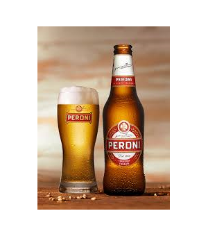 Peroni beer- bottle