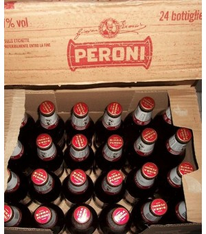 Peroni beer - case
