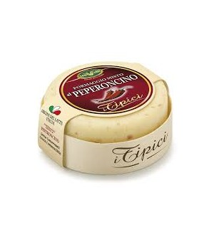 CHEESE WITH CHILLI PEPPERS - 180GR