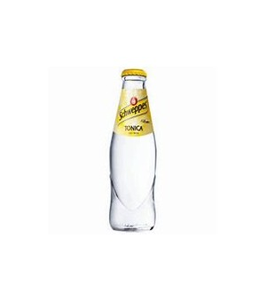 TONIC WATER IN GLASS - SCHWEPPES