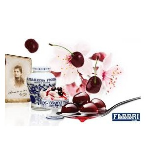 BLACK CHERRY in syrup - Fabbri
