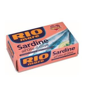 SARDINE in olive oil - 120gr Riomare