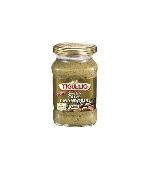 OLIVES AND ALMONDS PESTO - TIGULLIO 190GR