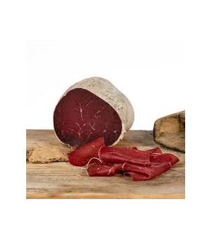 ITALIAN BRESAOLA SLICED IN VACUUM 80gr