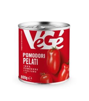 WHOLE PEELED TOMATOES - Vege'