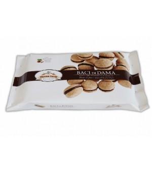 BACI DI DAMA with dark chocolate and hazelnuts