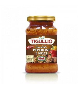 SWEET PEPPERS AND WALNUTS PESTO - TIGULLIO 190GR